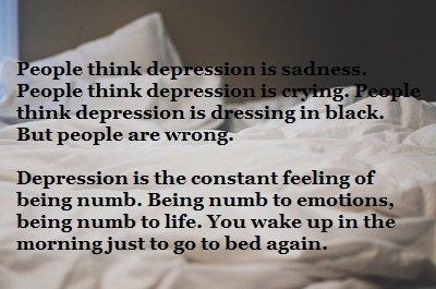 depression bed