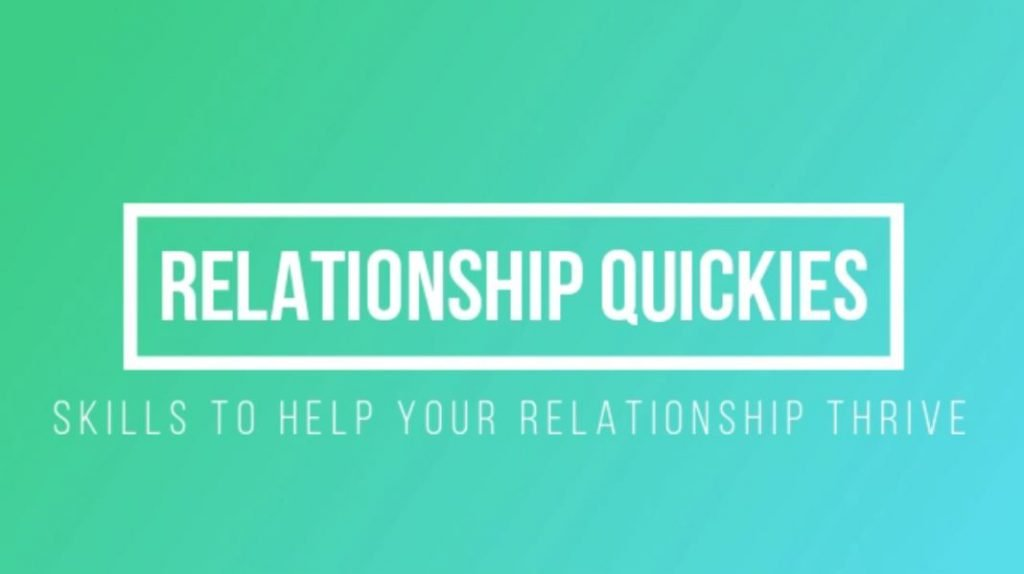 Relationship Quickies