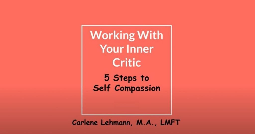 Working With Your Inner Critic