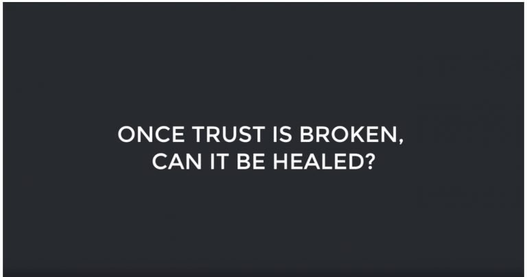 Once Trust is Broken, Can it Be Healed?