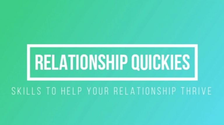 Relationship Quickies- Daily Check In