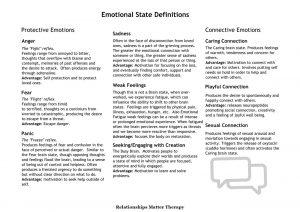 Emotional Brain States